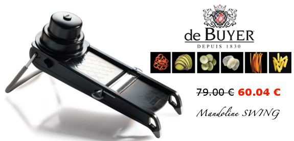 Mandoline swing de buyer