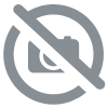 1 anti-theft hanger natural wood 44.5x22cm